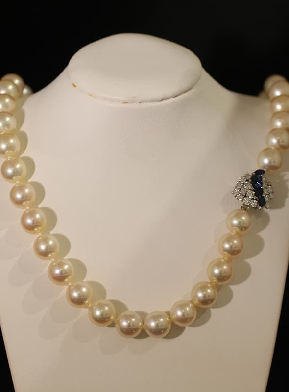 elegante perlenkette