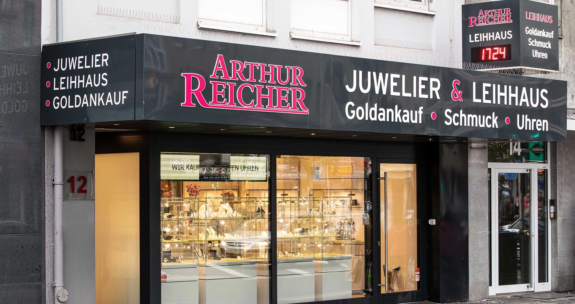 laden des juweliers arthur reicher 1